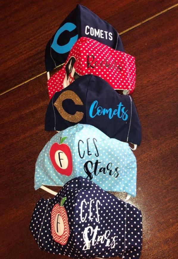 CHS senior designs and sells masks for public