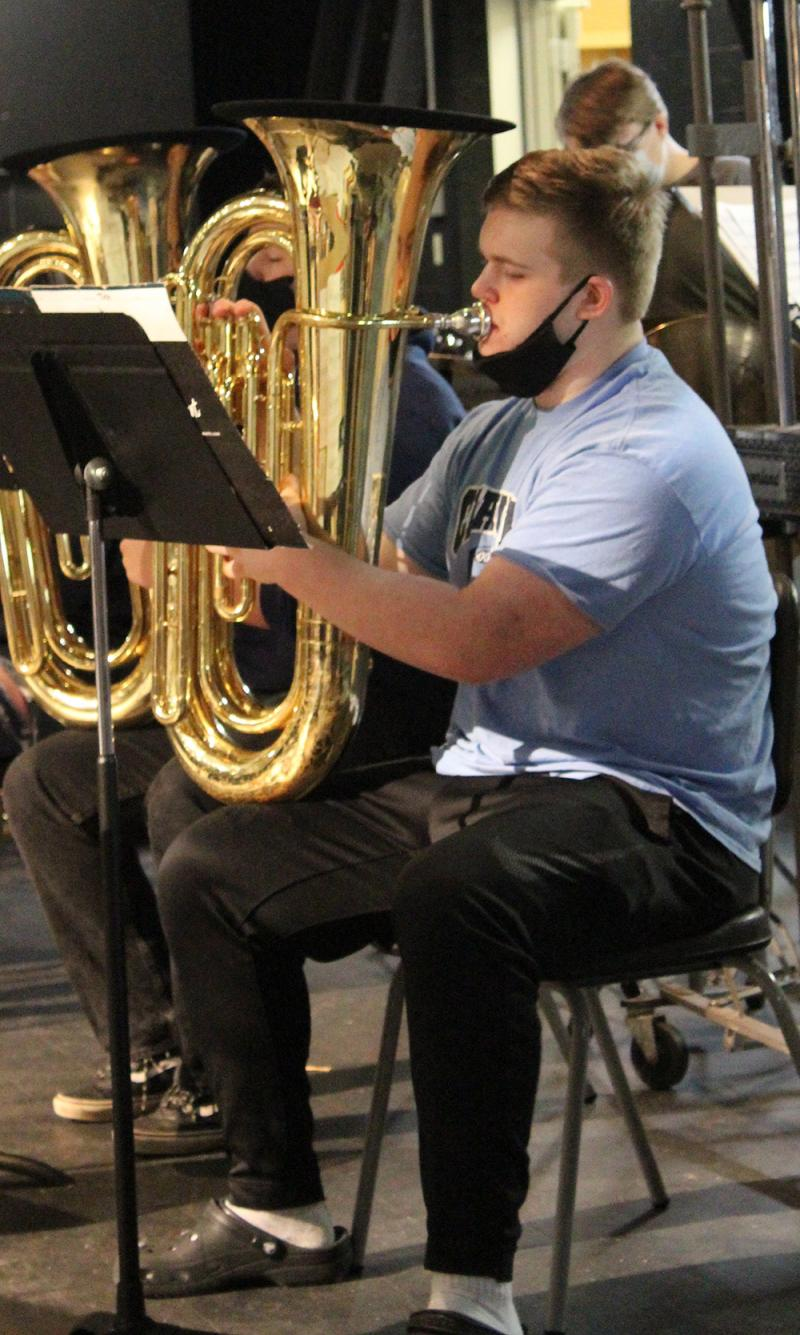 CHS Band earns I rating at state; performs for parents May 3