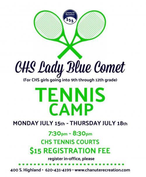 Tennis Camp for high school