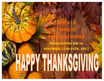 2017 thanksgiving announcement