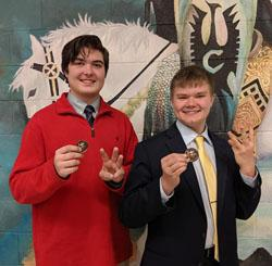 novice team takes third