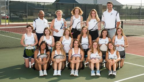 2018 CHS Girls Tennis Team