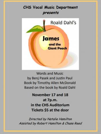 Muscial James and the Giant Peach