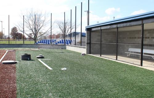 New turf, lights and dugouts upgrade facility
