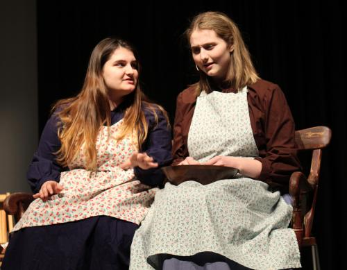 mrs webb and mrs gibbs in our town