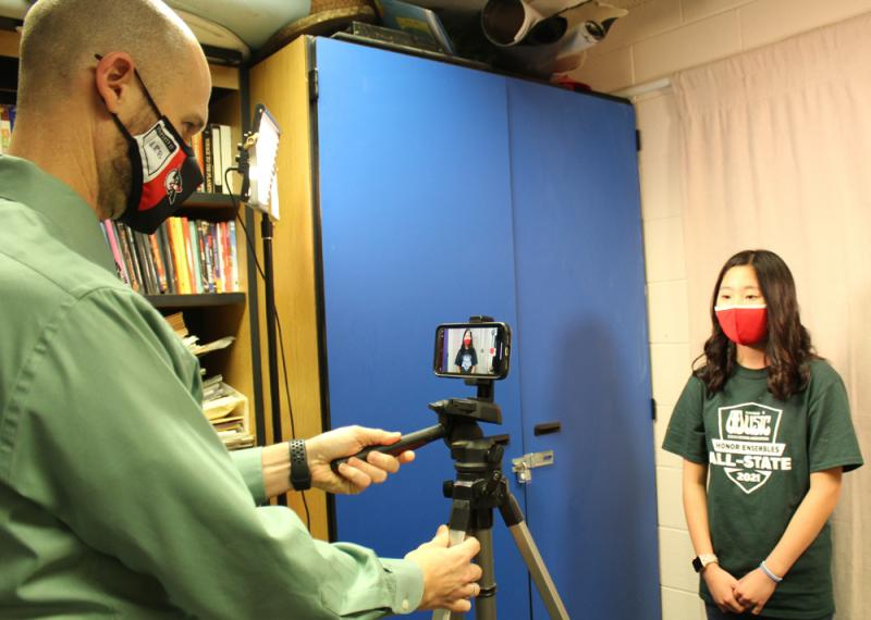 Students prepare for virtual state honor choir concerts