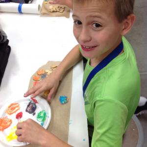 Student Color Mixing