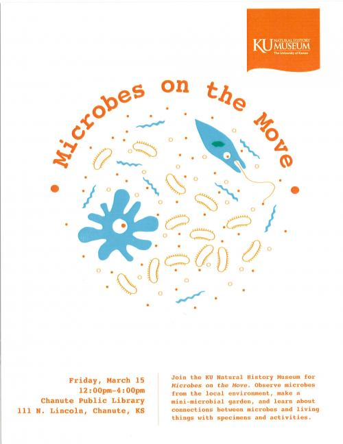 microbes on the move flyer