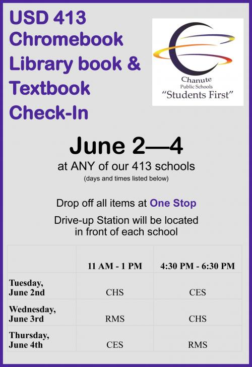 check in flyer