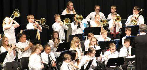 RMS brass rock spring concert