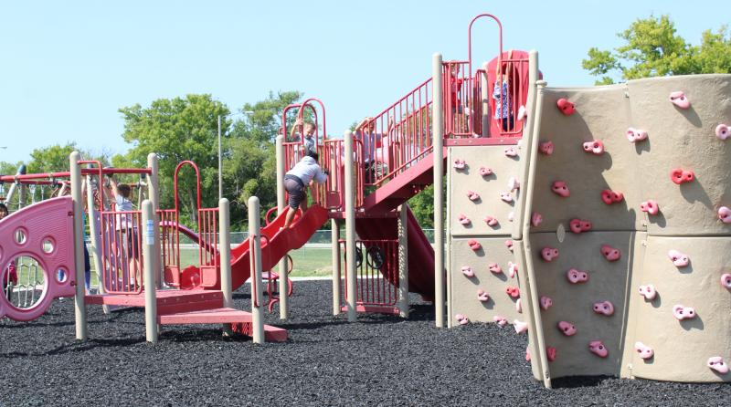 CES students have safer place to land on school playgrounds