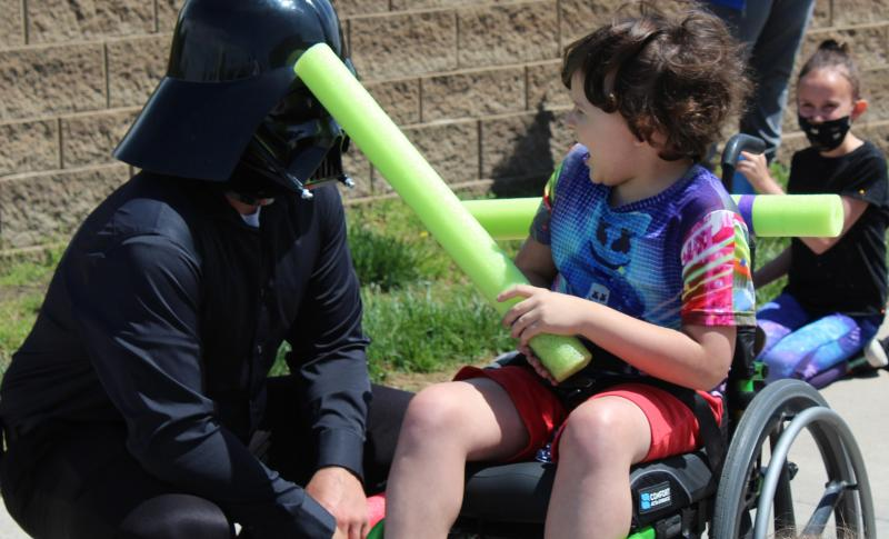 Third graders battle with the Force of knowledge