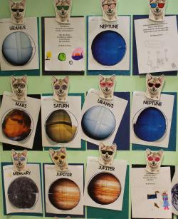 Third graders share solar excitement with peers