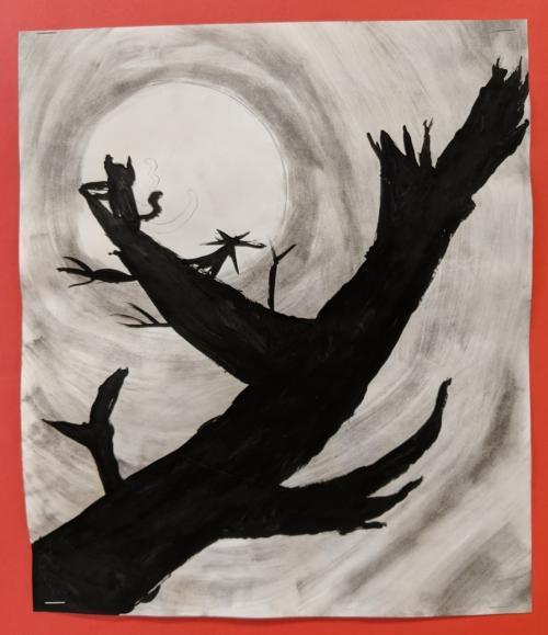artwork by fourth grader zoe novotny