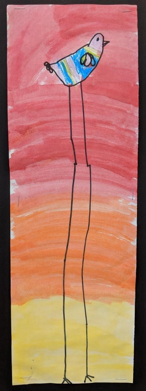 art work by first grader danika stich