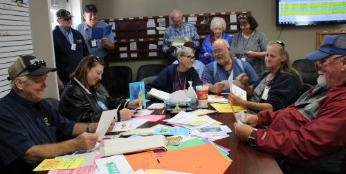 School bus drivers receive thank you cards from CES