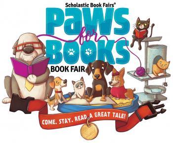 PTO Book fair Paws