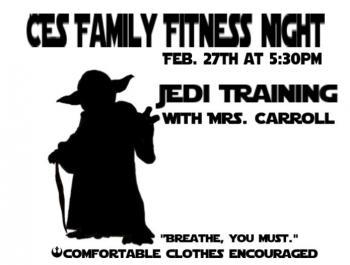CIS fitness night