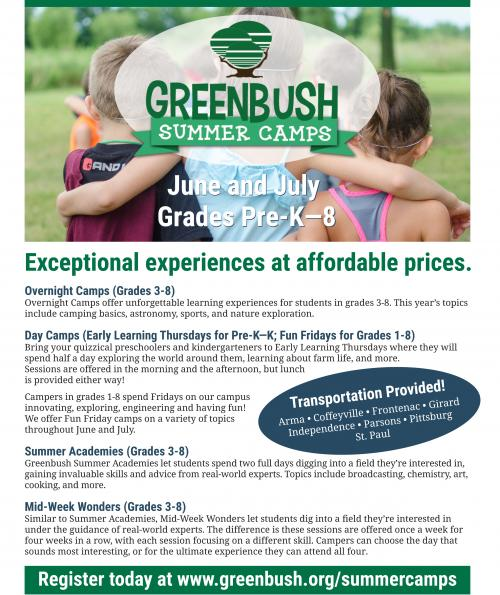 greenbush summer camps