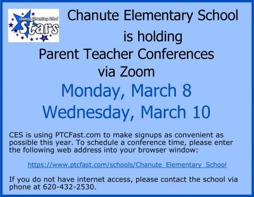 sign up for teacher conferences flyer