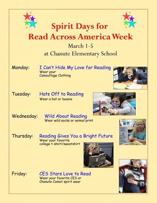 read across america week flyer