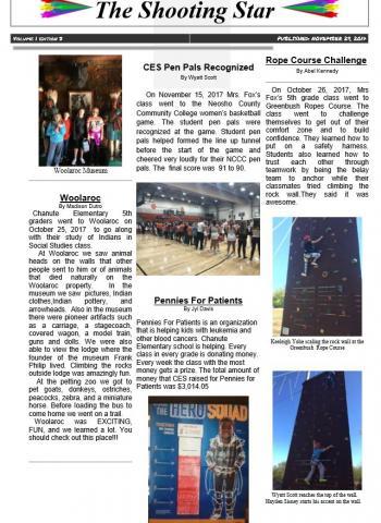 November newsletter 2017