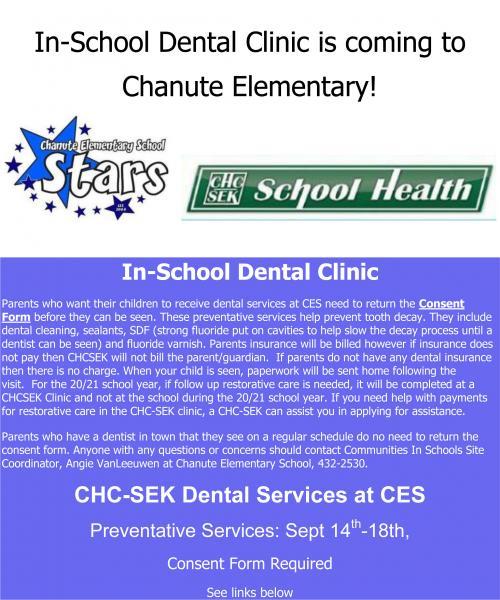 CIS dental clinic flyer 2020