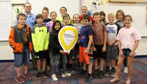 Fifth grade leadership team initiates fundraising campaign