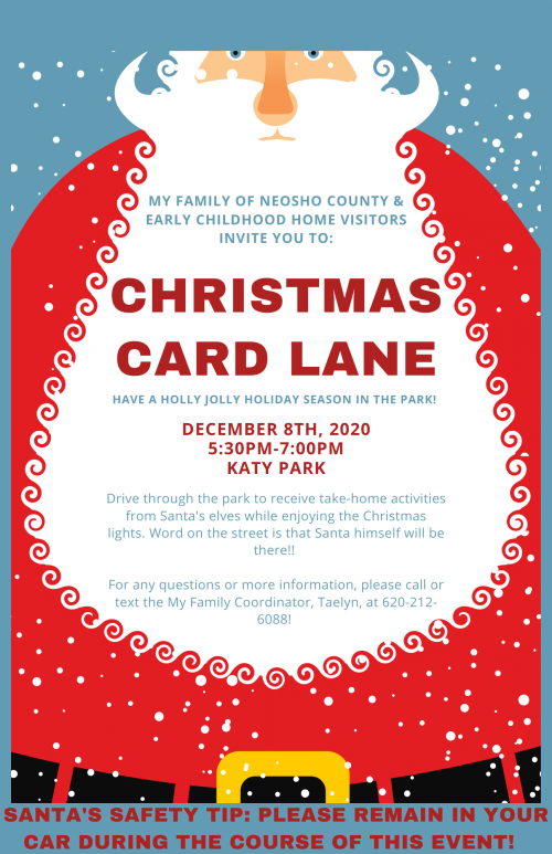 christmas tree lane flyer