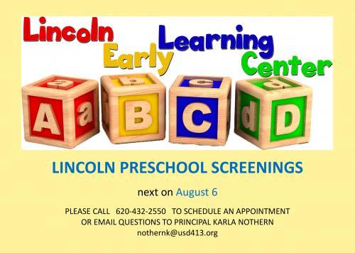 summer screening flyer