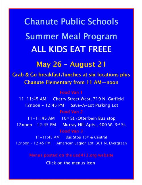 extended summer meal program