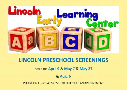 preschool screening dates