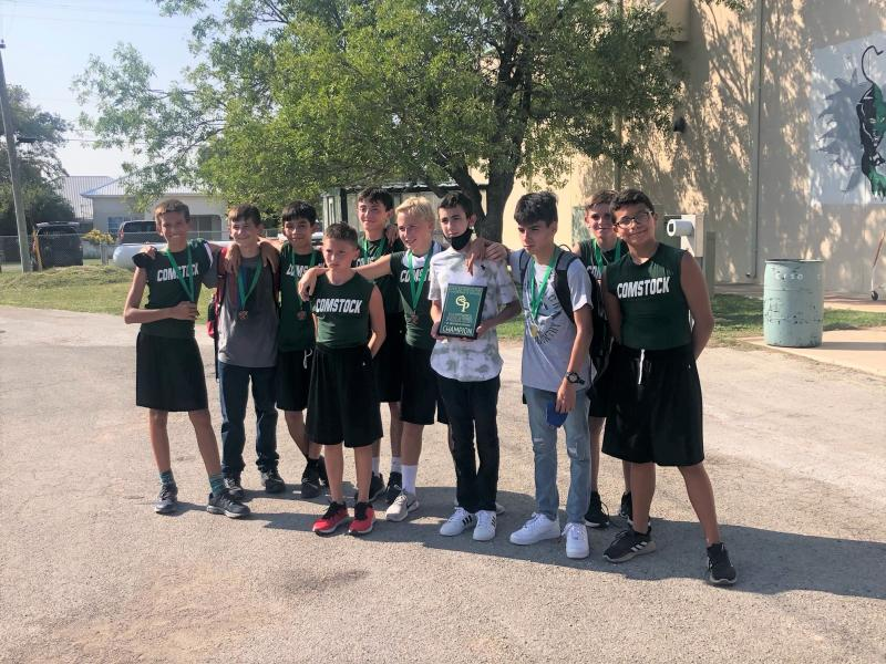 Junior High Runners Win at District Cross Country