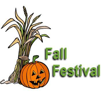 Fall Festival Scheduled for Friday, October 29th