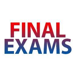 Semester Final Exam Schedule