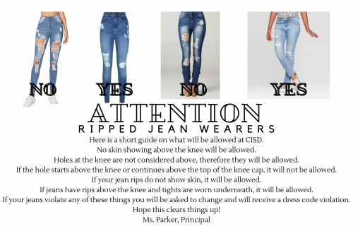 ripped jeans, girls, examples