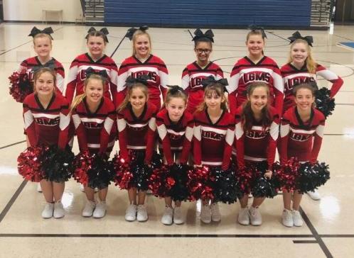 2019-2020 LGMS Cheerleaders