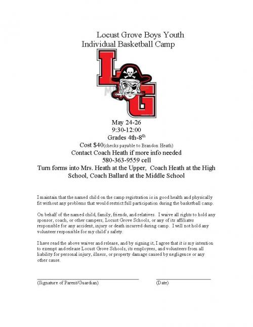 youth bball camp