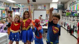 Super Heroes- Halloween Party 2016