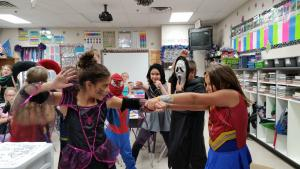 Heroes Vs. Villains Halloween Party 2016