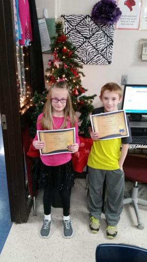 November and December Citizens of the Month