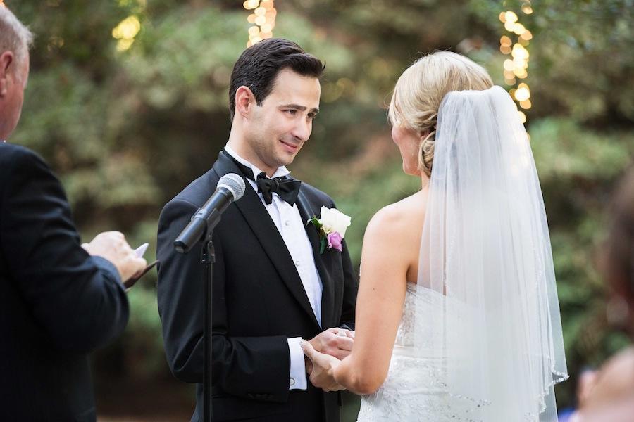 groom wedding ceremony