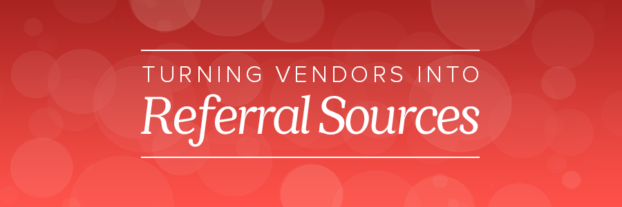 wedding photographer vendor referral