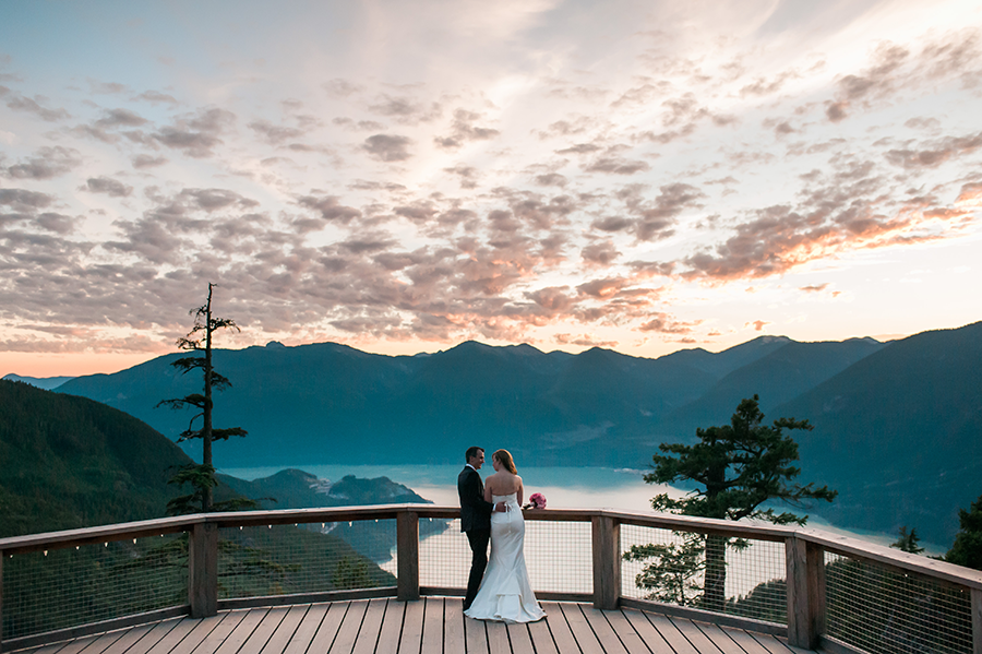 outdoor landscape wedding photography