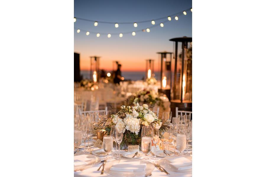 wedding photography table shot