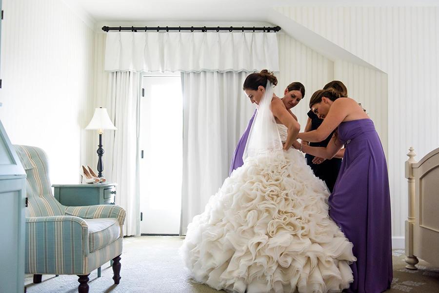 bridal dress wedding preparation
