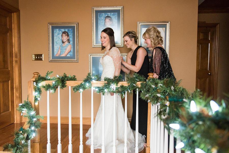 bridal prep images