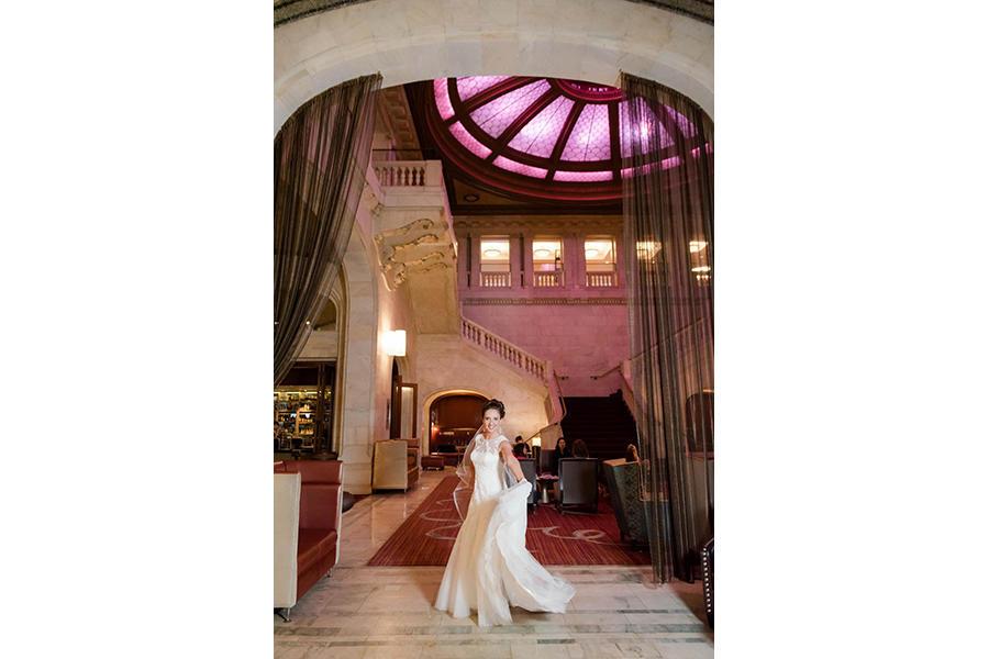 wedding photographer bridal portraits