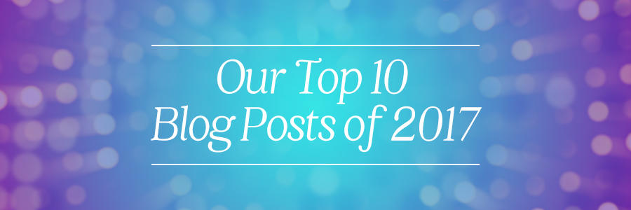our top 10 blog posts of 2017 for wedding photographers