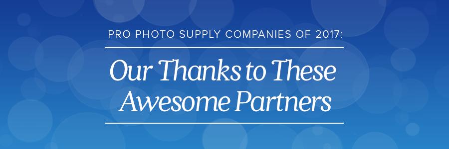 pro photo supply companies of 2017
